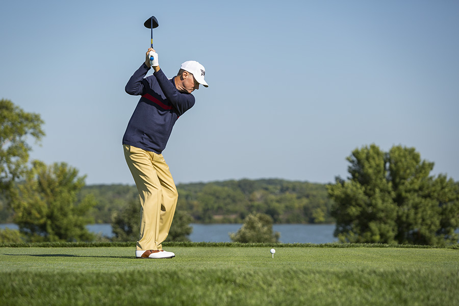 Mike Barge, Hazeltine National Golf Course, Chaska, Minnesota