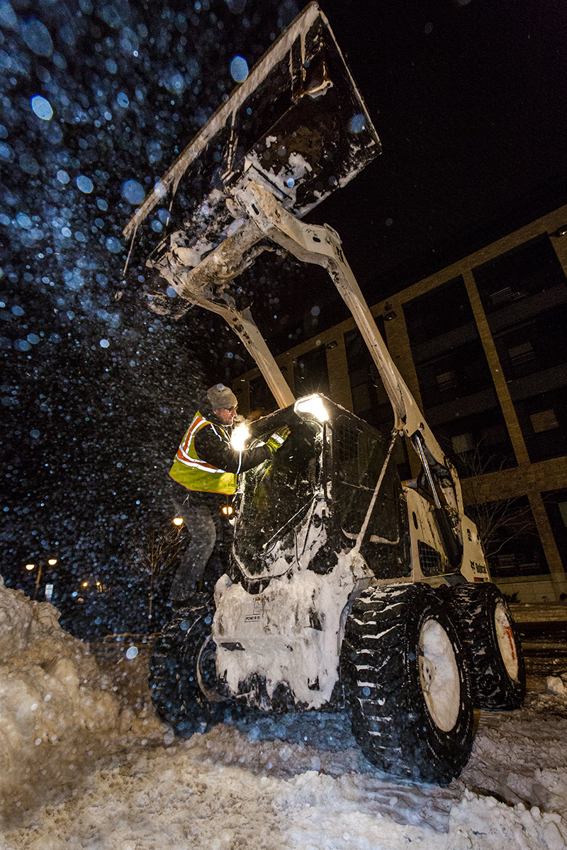 Twin Cities Outdoors, Bobcat, skid loader, winter, snow, snow removal, safety