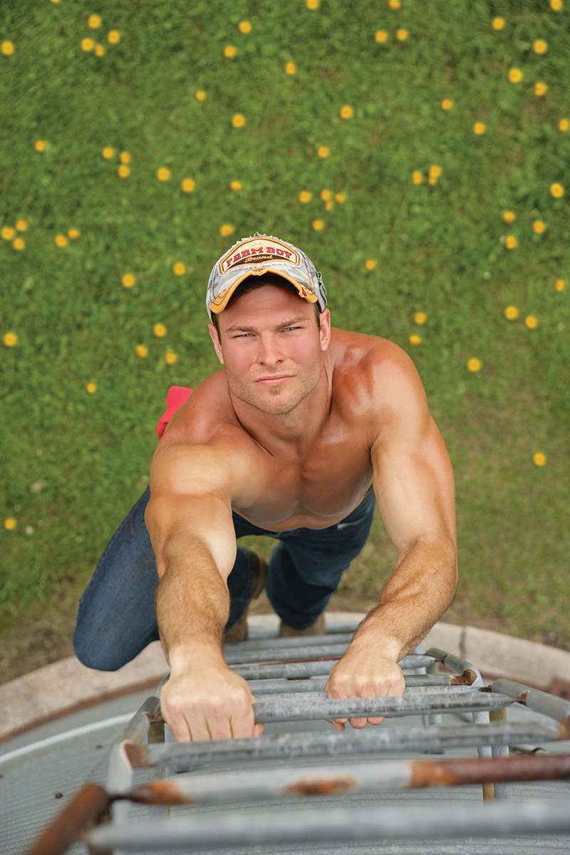 Farm Boy, Farm Girl, Muscles, Hat, Bare Chest, Jeans, Flowers, Farm, Farm Chores, Josh